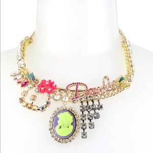 Betsey Johnson Darling Statement Necklace